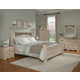 Standard Furniture Torina Poster Bedroom Set in Light Cream