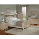 Standard Furniture Torina Sleigh Bedroom Set in Light Cream