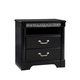 Standard Furniture Venetian Black TV Chest in Black 69250-69256