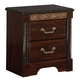 Standard Furniture Venetian Venetian 2-Drawer Nightstand in Cherry 69300-69307