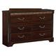Standard Furniture Venetian 6-Drawer Dresser in Cherry 69300-69309