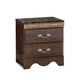 Standard Furniture Odessa 2-Drawer Nightstand in Brown Cherry 69500-69507
