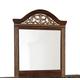 Standard Furniture Odessa Mirror in Brown Cherry 69518