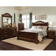 Standard Furniture Odessa Poster Bedroom Set in Brown Cherry