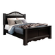 Standard Furniture Odessa Black Queen Poster Bed in Black 69550-69552Q