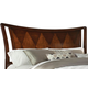 Standard Furniture Park Avenue II Queen Sleigh Headboard in Dark Golden Brown 87350-87351