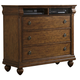 Liberty Furniture Rustic Traditions Media Chest in Rustic Cherry 589-BR45