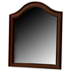 Liberty Furniture Rustic Traditions Vanity Deck Mirror in Rustic Cherry 589-BR55