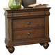 Liberty Furniture Rustic Traditions 3 Drawer Nightstand in Rustic Cherry 589-BR61