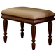 Liberty Furniture Rustic Traditions Vanity Bench in Rustic Cherry 589-BR99