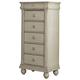 Liberty Furniture Rustic Traditions Lingerie Chest in Rustic White 689-BR46