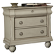 Liberty Furniture Rustic Traditions 3 Drawer Nightstand in Rustic White 689-BR61