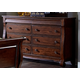 Liberty Furniture Sinclair 8 Drawer Dresser in Rustic Russet 428-BR31