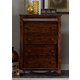 Liberty Furniture Sinclair 5 Drawer Chest in Rustic Russet 428-BR41
