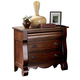Liberty Furniture Sinclair 2 Drawer Nightstand in Rustic Russet 428-BR61