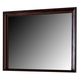 Liberty Furniture Sinclair Mirror in Rustic Russet 428-BR51