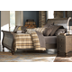 Liberty Furniture Southern Pines Queen Sleigh Bed in Bark 818-BR-QSL