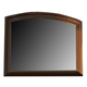 Liberty Furniture Southern Pines Mirror in Bark 818-BR51