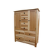 A-America Adamstown Double Door Chest in Natural ADANT5610