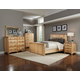 A-America Adamstown Panel Bedroom Set in Natural