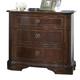 Fine Furniture Antebellum 3 Drawer Nightstand in Hermitage Wood 920-100