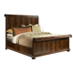 Fine Furniture Hyde Park King Scrolled Panel Bed in Saint James 1110-KPANEL