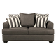 Levon Loveseat in Charcoal 7340335