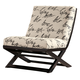 Levon Showood Accent Chair in Charcoal 7340360 CLEARANCE