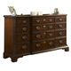 Fine Furniture Hyde Park Breakfront Drawer Dresser in Saint James 1110-142