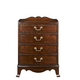 Fine Furniture American Cherry Richmond Bedside Table in Potomac Cherry 1020-106