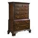 Fine Furniture American Cherry Hampton Chest on Chest in Potomac Cherry 1020-112