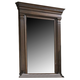 Fine Furniture American Cherry Quincy Vertical Mirror in Potomac Cherry 1020-152