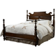 Fine Furniture American Cherry King Bedford Pineapple Post Bed in Potomac Cherry 1020