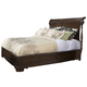 Fine Furniture American Cherry Queen Charleston Platform Panel Bed in Potomac Cherry 1020