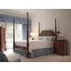 Fine Furniture American Cherry Bridgeport Pencil Post Bedroom Set in Potomac Cherry 1020