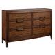 Fine Furniture Boulevard Double Dresser in Gateway 1360-146