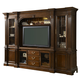 Fine Furniture American Cherry Salisbury Home Entertainment  Wall Unit in Potomac Cherry 1020