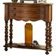 Fine Furniture Summer Home Leg Nightstand in Lodge 1050-102