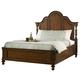 Fine Furniture Summer Home King Platform Bed in Lodge 1050