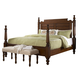 Fine Furniture Summer Home King Post Bed in Lodge 1050