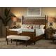 Fine Furniture Summer Home Panel Bedroom Set in Lodge 1050