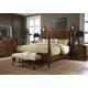 Fine Furniture Summer Home Post Bedroom Set in Lodge 1050