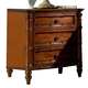 Fine Furniture Summer Home Bamboo Nightstand in Lodge 1050-106