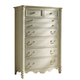 Fine Furniture Summer Home Drawer Chest in Shell 1051-110