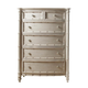 Fine Furniture Summer Home Bamboo Drawer Chest in Shell 1051-116