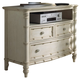 Fine Furniture Summer Home Media Chest in Shell 1051-140