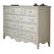 Fine Furniture Summer Home Dresser in Shell 1051-142