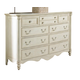 Fine Furniture Summer Home Bamboo Dresser in Shell 1051-144