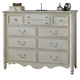 Fine Furniture Summer Home Master Chest in Shell 1051-146
