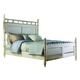 Fine Furniture Summer Home King Panel Bed in Shell 1051